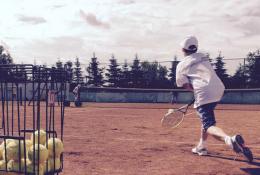 Pierwszy obóz tenisowy w Łebie