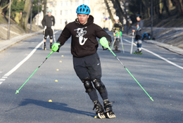 Otwarty trening inline alpine