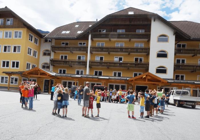 hotel obóz narciarski austria