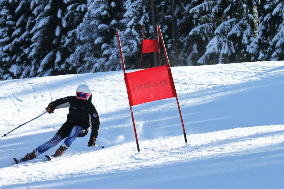 instruktorka narciarstwa