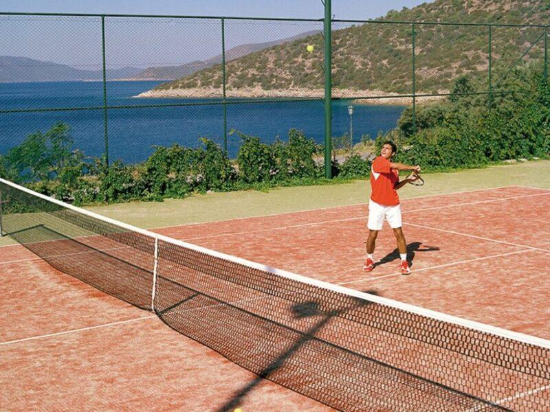 majowka z tenisem