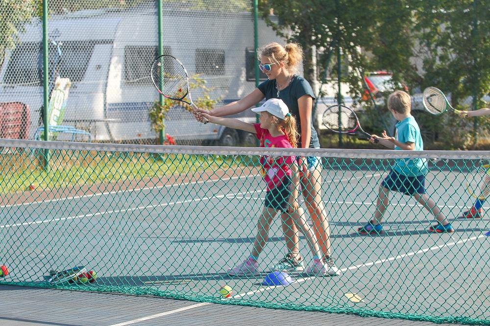 półkolonie tenisowe na półwyspie