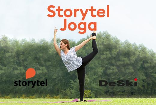 Storytel Joga – WSTĘP WOLNY